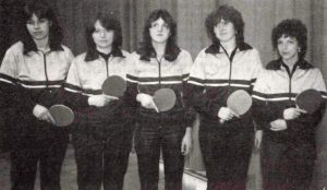 Meistermannschaft Bezirksklasse 1981/82